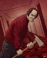 The Shining by JoseRealArt
