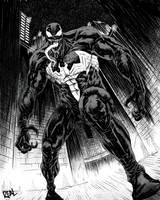 Venom (black and white)