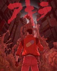 Akira by JoseRealArt