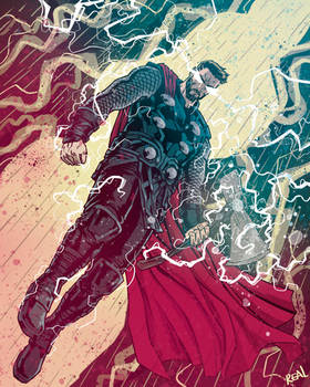 Thor by JoseRealArt