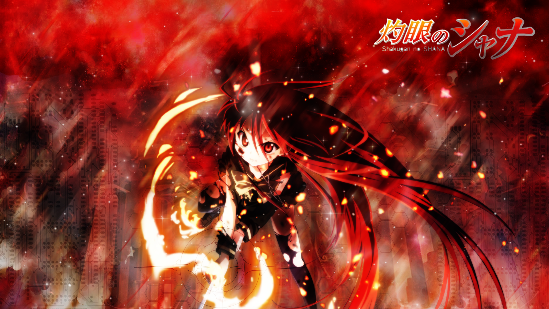shakugan no shana wallpaper hd