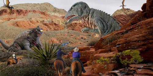 Gorosaurus vs Baragon Round 2