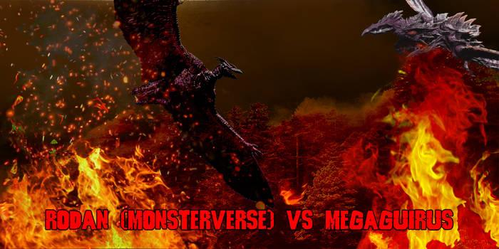 Megaguirus vs Rodan Monsterverse