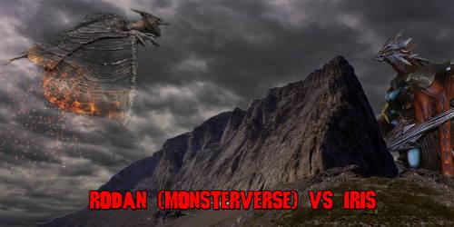 Rodan (Monsterverse) vs Iris