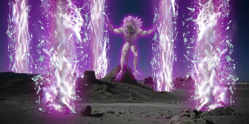 Krystalak Prism Surge Test Art