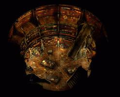 Icewind Library by eawyne