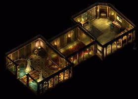 Icewind Temple by eawyne