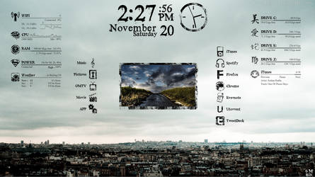 rainmeter pileus modified