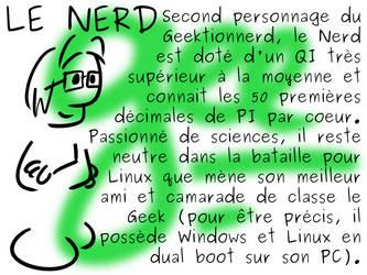 Geektionnerd - Le Nerd by Ptiloukoum