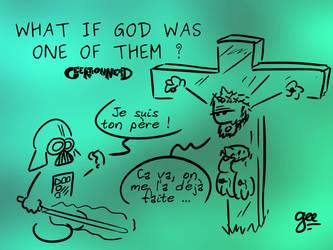 Wallpaper - What if god - 4 3 by Ptiloukoum