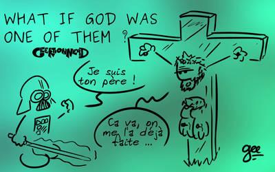 Wallpaper - What if god - 16 9 by Ptiloukoum