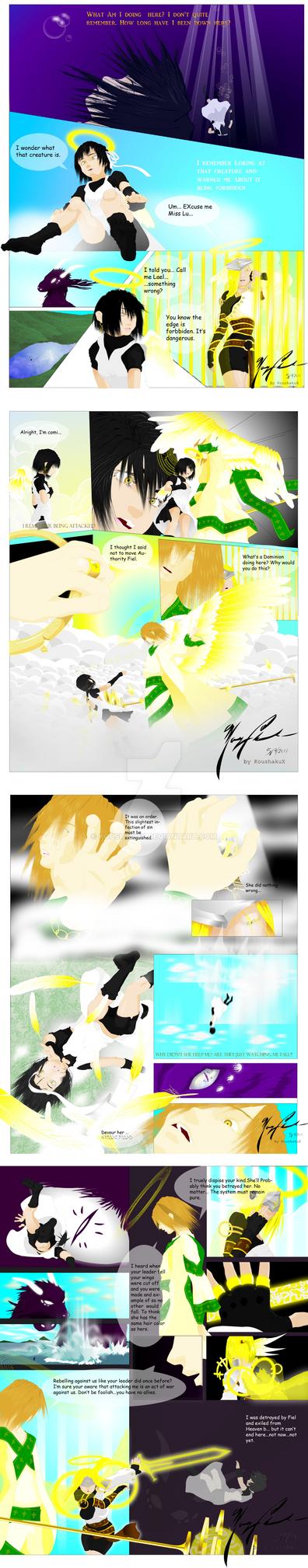 Angel Lael's Exile by KoushakuX