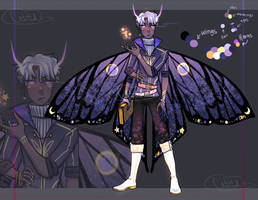 Butterfly demon AUCTION [CLOSED] by Lilithsleepsadopts