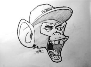 Tyler the Creator, Monkey theme by Stijn B.