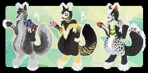 Anthro fox designs [CLOSED]