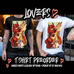 LOVERS T-shirt preorder