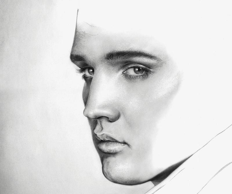 Elvis Presley sneak peek 5 by LucaTedde