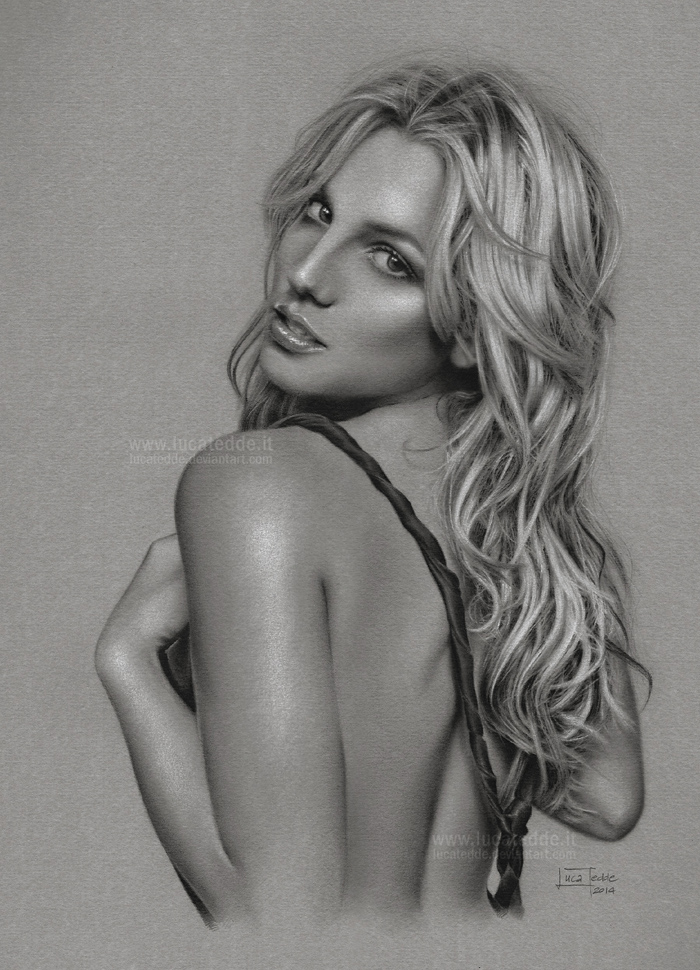 Britney Spears by LucaTedde
