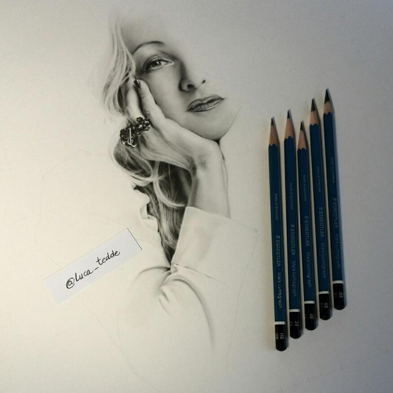 Cyndi Lauper WIP 02 by LucaTedde