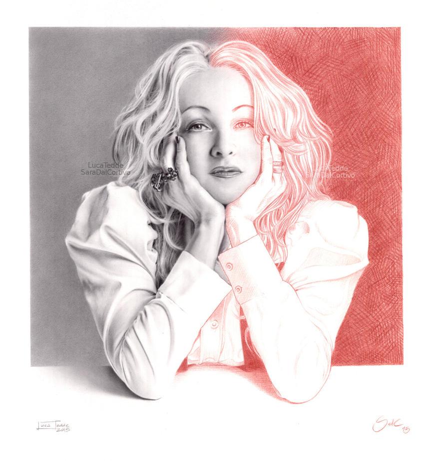 Cyndi Lauper by LucaTedde