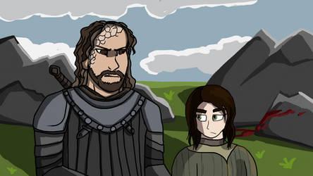Arya and Hound
