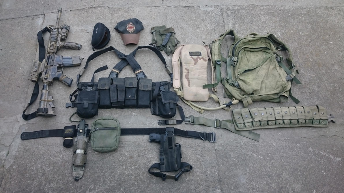 Early OEF loadout by Tactar on DeviantArt