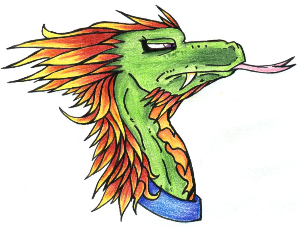 Head of Quetzalcoatl by Eclipse84 on DeviantArt