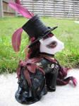 Scarlett, a steampunk custom