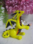 polymer clay ice cream dragon