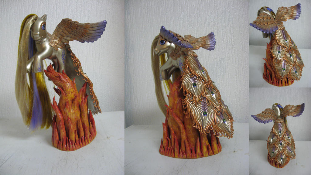 Mystic Phoenix by assassin-kitty