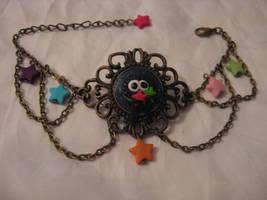 Steampunk Sootsprite bracelet