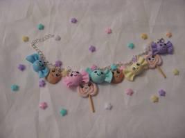 Kawaii charm bracelet