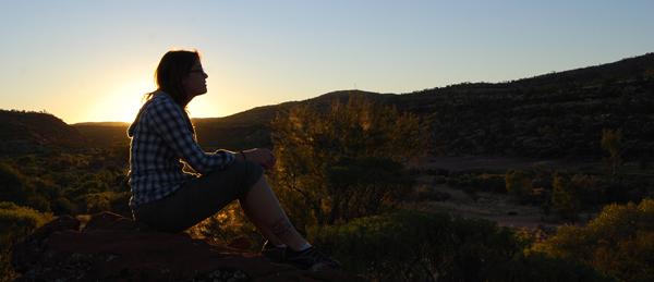 Australian Sunset by Tizera