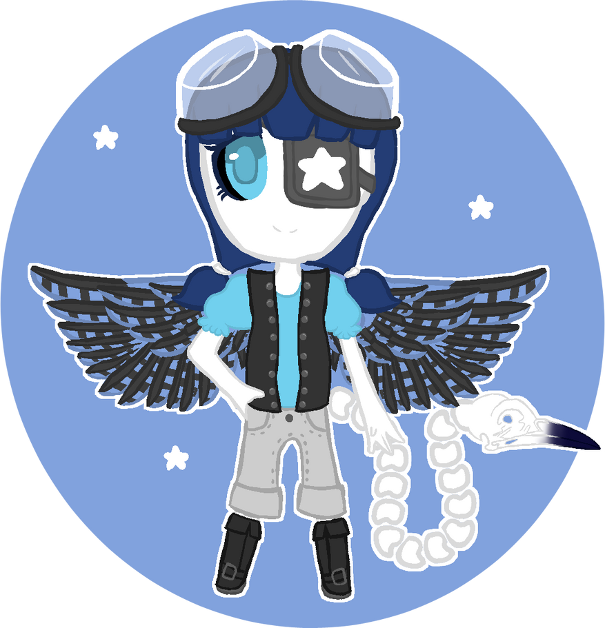 Uncommon Bluejay Huleton DTA [OPEN] by Crystalline-Flower