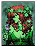 Poison Ivy by Arthur Adams by DrDoom1081
