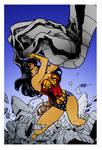 Wonder Woman Under Pressure by Terry Dodson