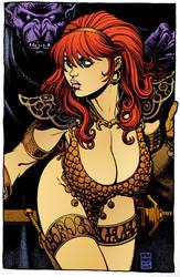 Red Sonja by Arthur Adams