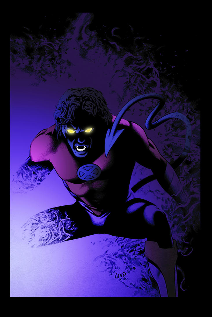 Nightcrawler by Greg Land by DrDoom1081