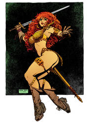 Red Sonja 3 by Arthur Adams