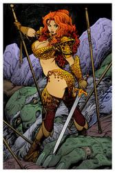 Red Sonja 4 by Arthur Adams