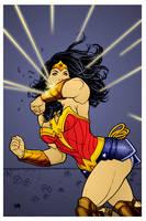 Wonder Woman by Frank Cho by DrDoom1081