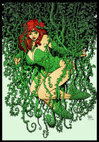 Poison Ivy XI by Arthur Adams by DrDoom1081