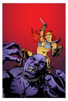 Red Sonja by Craig Cermak by DrDoom1081