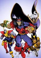 X-Men Warpath by Arthur Adams by DrDoom1081