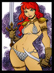 Red Sonja v2 by Bruce Timm