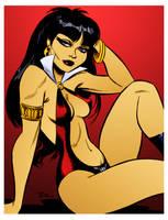 Vampirella by Bruce Timm by DrDoom1081