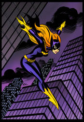Batgirl by Bruce Timm by DrDoom1081
