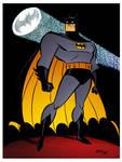 Batman Beacon by Bruce Timm