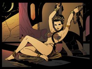 Slave Leia by Darwyn Cooke