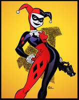 Harley Quinn by Bruce Timm by DrDoom1081